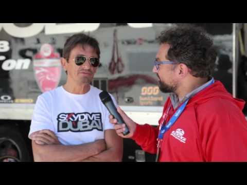 40th Giro del Trentino Melinda: Skydive Dubai's sports director Alberto Volpi