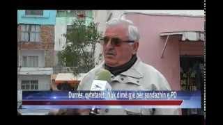 Gambar cover 03 04 2015   Durrës, qytetarët, nuk dimë gjë për sondazhin e PD
