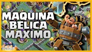 ¡ 1 SEGUNDO con la MAQUINA BELICA AL MAXIMO xD ! - #MAQUINABELICA20 - CLASH OF CLANS ALDEA NOCTURNA