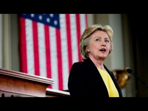 Does Clinton support crony capitalism?