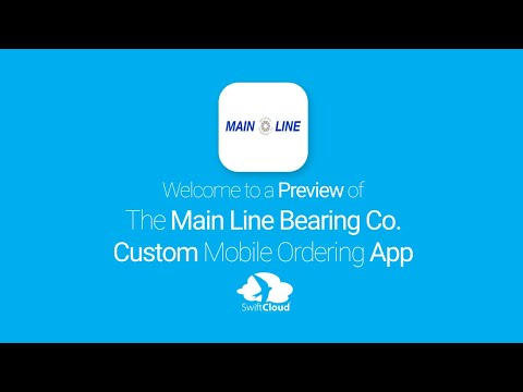 Main Line Bearing Co. - Mobile App Preview MAI035W