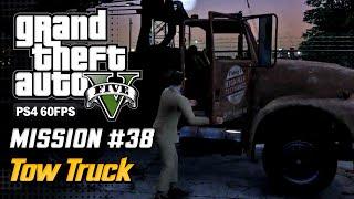 【GTA 5 100%】 Mission 34 - Tow Truck - Walkthrough Part 71 [GOLD MEDAL]