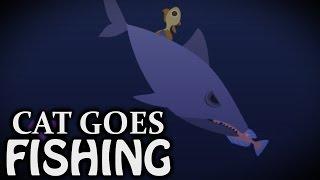 SHARK ATTACK - Cat Goes Fishing