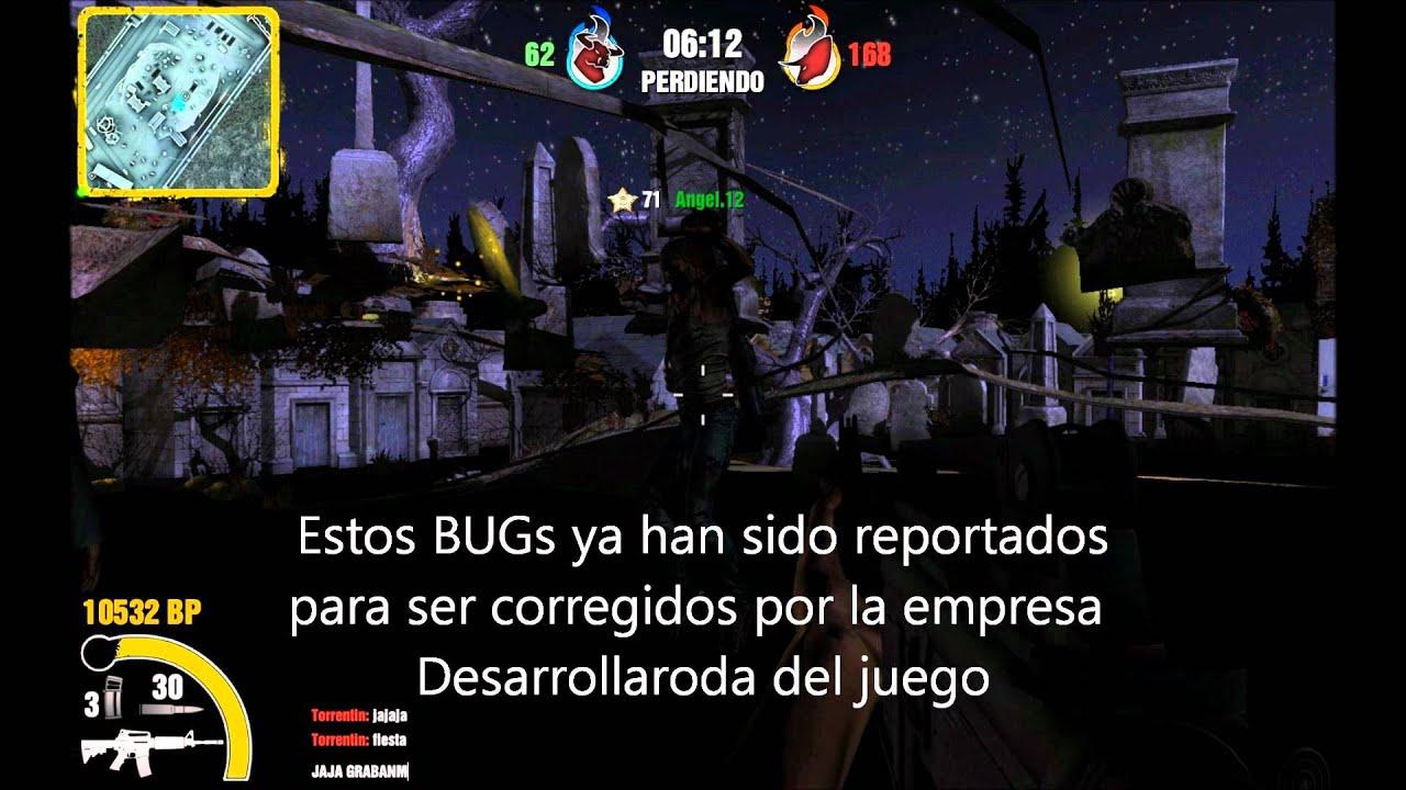 BUGS MAPA ZOMBITOWN, TOL2 (Torrente Online 2, Freak Wars)