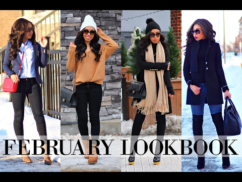 WINTER TO SPRING LOOKBOOK 2017 | 6 OUTFIT OF THE WEEK IDEAS