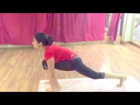sun salutation surya namaskaar yoga  youtube