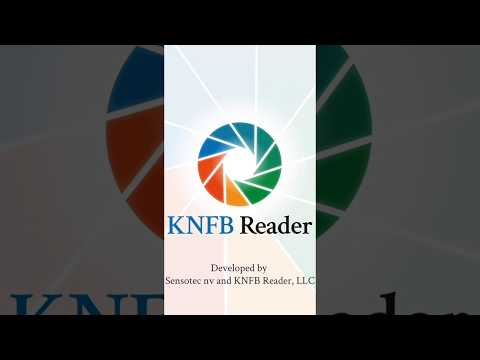 KNFB Reader Just Launched V. 3.0 for iOS