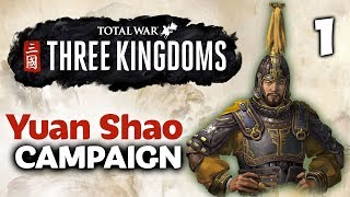 THE DRAGON OF YUAN RISES! Total War: Three Kingdoms - Twitchcon EU - Yuan Shao Campaign #1 of 3