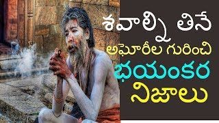 aghori life secrets | facts about aghora| nagasadhu telugu | aghora telugu| mystery of aghori telugu YouTube Videos