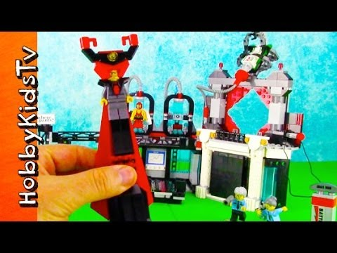 The LEGO MOVIE Lord Business Evil Lair Play Set [Box Open] [Toy Review] (70809)