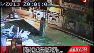 News5E | TAGUIG STUDENT DEATH