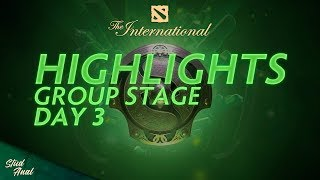 Highlights TI8 Group Stage. Day 3