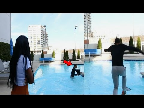 Download Youtube: ANGRY GIRLFRIEND THROWS PS4 IN THE POOL!!! (REVENGE PRANK)