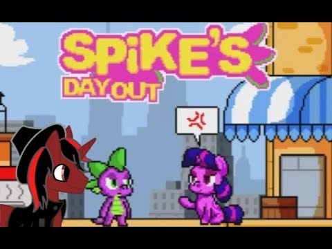 MLP Let's Play - Spike's Day Out - A Day in a Con with Spike (feat. Trixie)