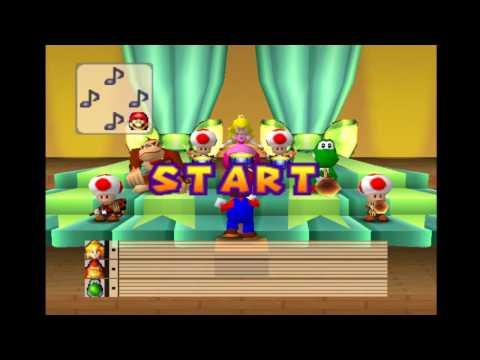 Mario Party Minigames - Mario Bandstand
