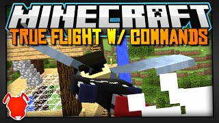 Minecraft | Fly Forever w/ 3 Command Blocks! (1.9 Snapshot Feature)