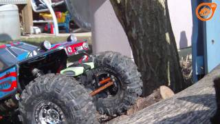 axial ax10 swx log crawling where the streets have no name
