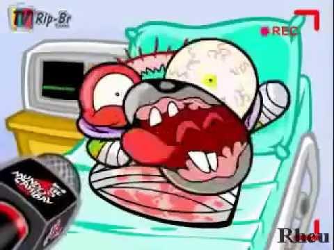 video vassoura de ao mundo canibal