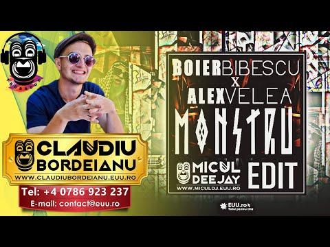 Boier Bibescu feat. Alex Velea - Monstru (Micul Dj & EUU.ro Edit)