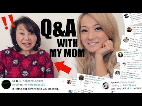 My Mom Answers Your Questions About Me (in Japanese)
