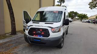 Gambar cover North Miami Prisoner Transport Van built by Dana Safety Supply, Miami with Whelen LED Police Lights