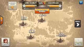 Clash of clans - Show case [CANI SCIOLT1] Vs [CLASHEADS]