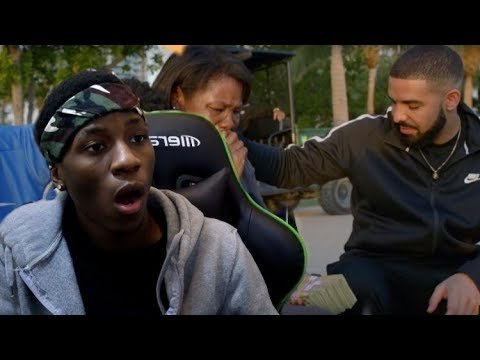 SHOCKED TEEN REACTS TO Drake - God's Plan (Official Music Vi