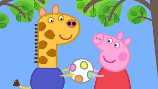 Peppa Pig English Episodes in 4K | Gerald Giraffe! | 1 Hour   #169