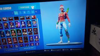 Fortnite is back the Christmas skins, shoppiamo!!!