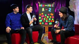 Dan & Phil's A-Z with James Bay | BRIT Awards 2015