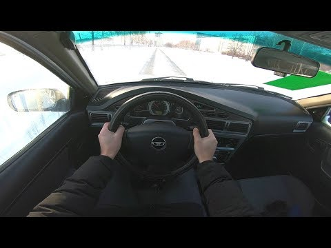 2012 Daewoo Nexia 1.6L (109HP) F16D3 POV CITY DRIVING