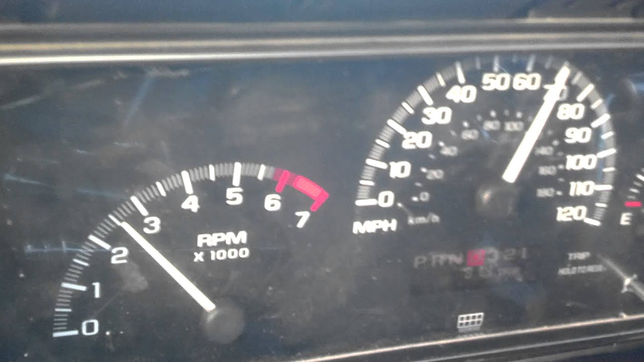 hight resolution of 98 chevy malibu instrument cluster in my 89 caprice 5 3l ls swapped