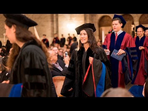 Wharton Doctoral Programs Graduation Ceremony 2016