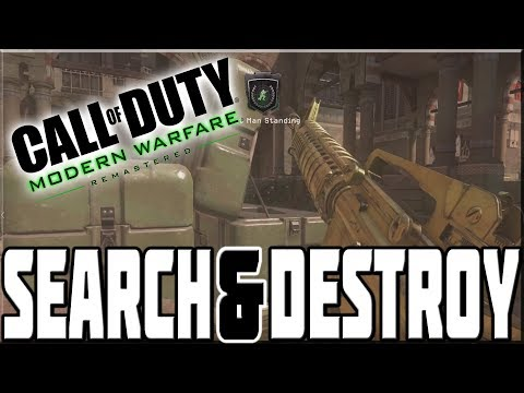 SEARCH & DESTROY ON MODERN WARFARE REMASTERED!