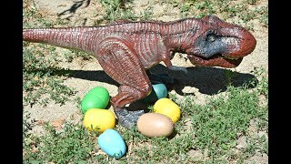 Dinosaur Puppet Walking and Laying Eggs Toy - Dinosaurs Toys T Rex