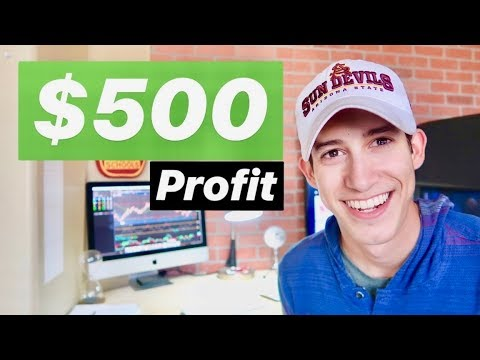 Another $500 Profit On The Day   Swing Trading 101