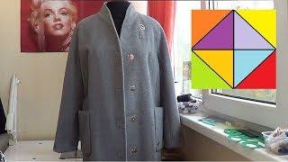 Как укоротить рукава в пальто