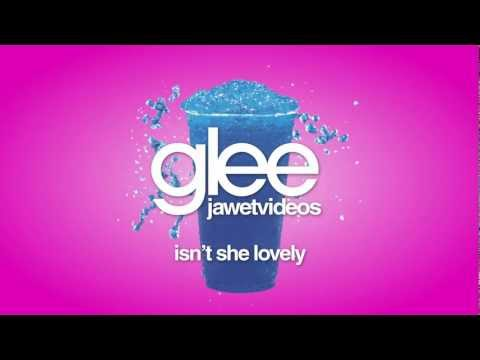 Glee Cast - Isn't She Lovely (karaoke version)