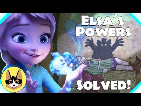 Mystery of Elsa's Powers SOLVED!  Connection to Rapunzel Proven!  | Frozen/Tangled Frangled Theory