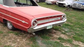 1964 Galaxie 500XL Convertible 390