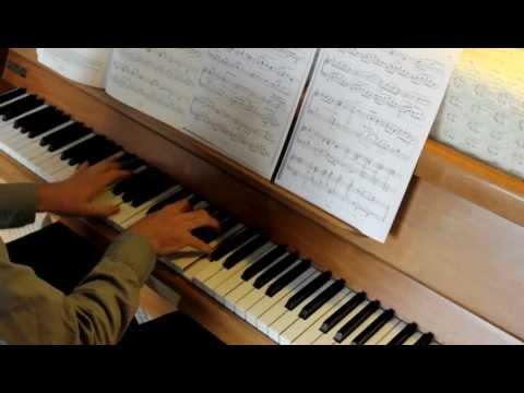 Grade 7 Piano ABRSM, B1 Berceuse, Bridge, 2013-2014