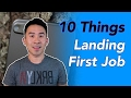 10 Things You Go Through To Land Your Fi