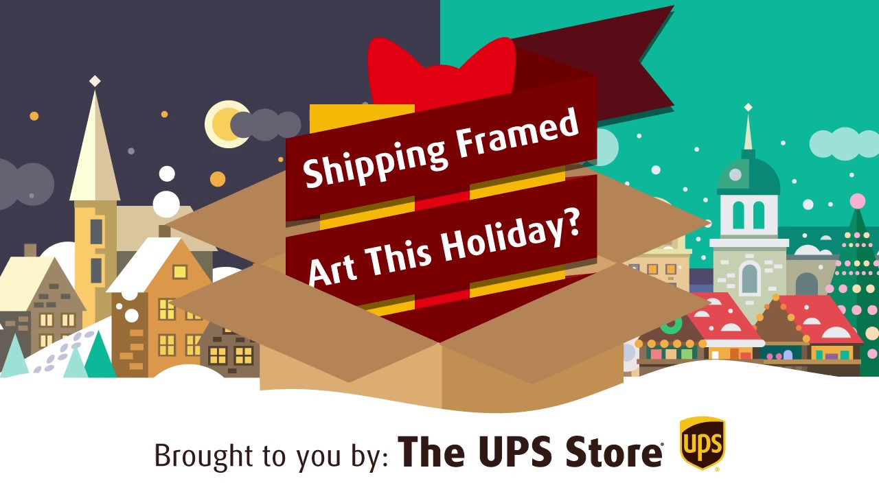 How to Pack and Ship Framed Art - YouTube