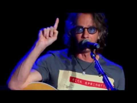 Rick Springfield concert & backstage with Tony Cochran at Fraze Pavilion 7/2/2016 Dayton  Ohio