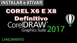 COMO BAIXAR, INSTALAR E ATIVAR DEFINITIVAMENTE COREL DRAW  x6  X7 32 e 64 btsPTBR
