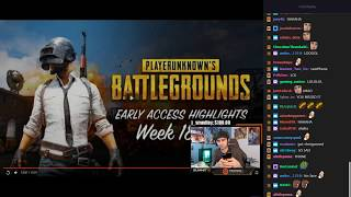 Summit1g reacts to PUBG Early Access Highlights Week 18 19 with chat