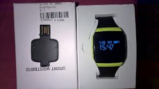 e07s smart wrist band sportwatch tracking gps