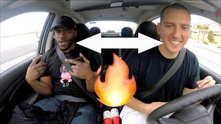 My Uber Passenger Raps Back!