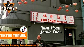TikTok Travel License to Explore - Jackie Chan Filming Location : Foo Chow Restaurant, China Town.