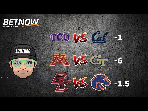 GEORGIA TECH MINNESOTA BOISE STATE BOSTON COLLEGE TCU CAL